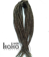 Hot selling synthetic hair mix color double ended braids dreads for black women