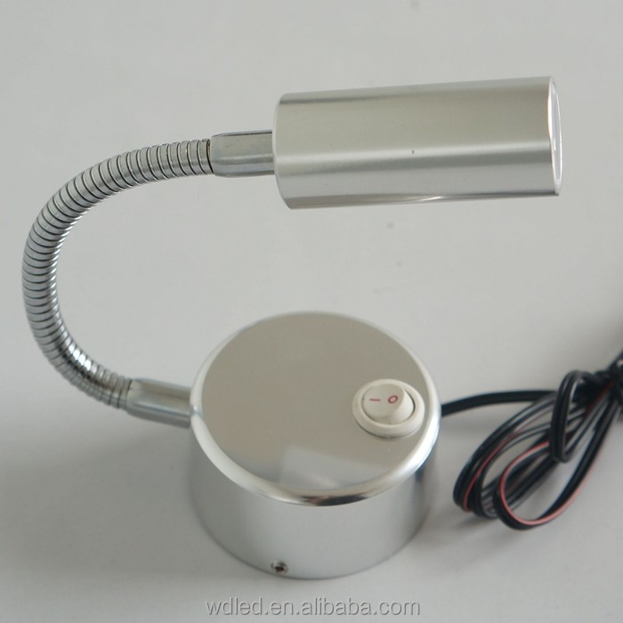 1w 12v Auto Flexible Map Light/flexible Car Map Light - Buy Auto Flexible  V Map Light Flexible on 12v led lights, flexible reading light, flexible led shop light, led reading light, 12 volt red indicator light, 12 volt flexible socket light,
