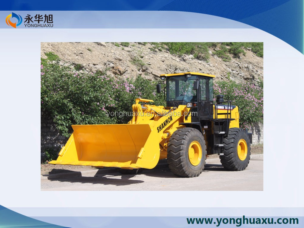 Heavy hub reduction wheel loader with any loader attachment you needed