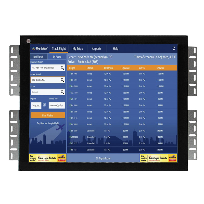Full HD touchscreen monitor Open Frame 15.6 inch Touch screen Monitors