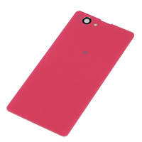 Replacement Back Cover For Sony Xperia Z1 Compact z1 mini Battery Rear Door Housing pink