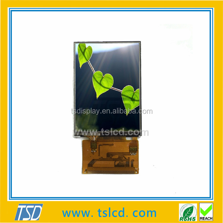 2.8 inch tft lcd module 240x320 dots resistive touch FPC 37 pins LCD