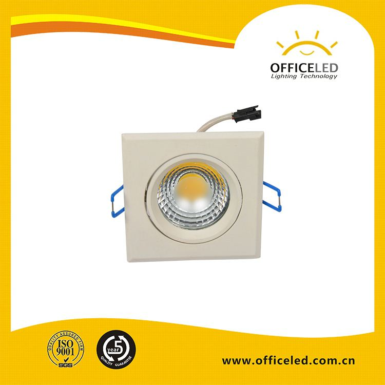 Color changing 7w led down liht dimmable