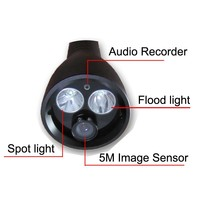 1kg more than 7 hours long lighting time camera torch light