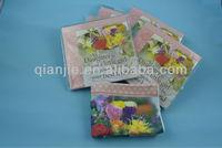Popular design practical printing english tea towel for kitchen towel