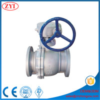 Industrial application 1 2 4 6 8 10 12 inch ball valve