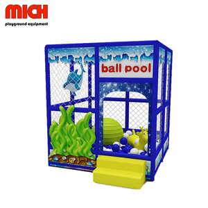 Square High Quality Kids Ball Pool Indoor Playground