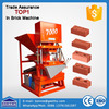 eco master 7000 turbo hydraulic block machine/clay brick machine making machine