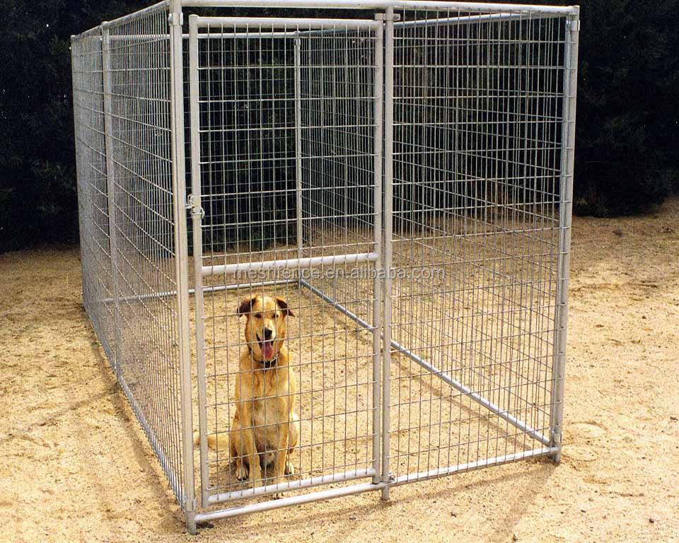 grand lourd duty chien cage pour animaux de compagnie chat barri re cl ture exercice jeu en. Black Bedroom Furniture Sets. Home Design Ideas