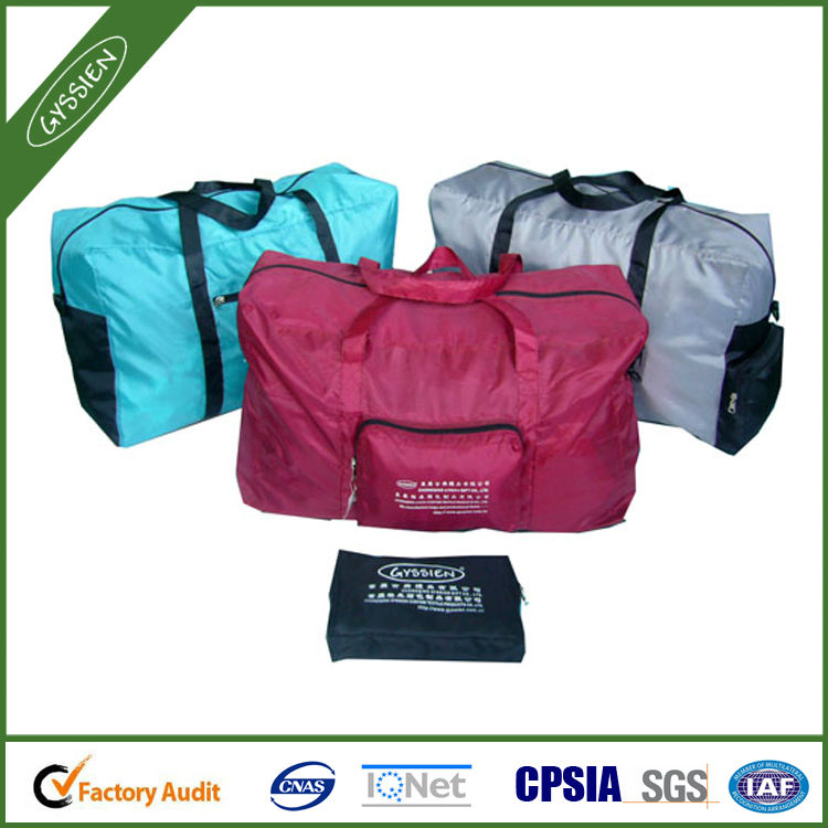 light foldable travelling bag factory