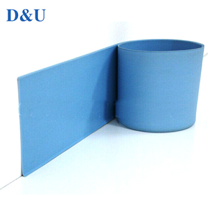 High Quality Waterproof Board Soft PVC Floor Kitchen Skirting