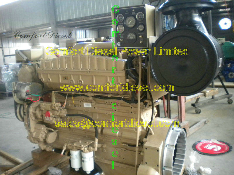 marine inboard!! cummins NTA855 ship engine, NTA855-M450 for fishing ship, ocean vessel
