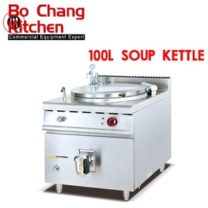 Commercial Banquet Hall Canteen Central Kitchen Using Electric heating Soup Kettle For Sale