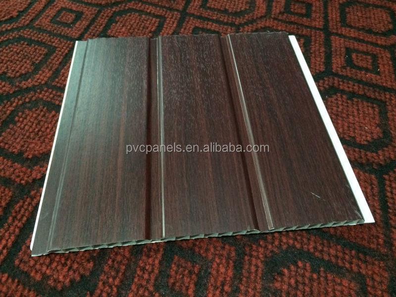 Building Materials Plastic Lamination Wood Panel Pvc