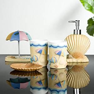 SBWYLT-Top grade resin bathroom Bathroom five condoms ware summer wedding new home gifts
