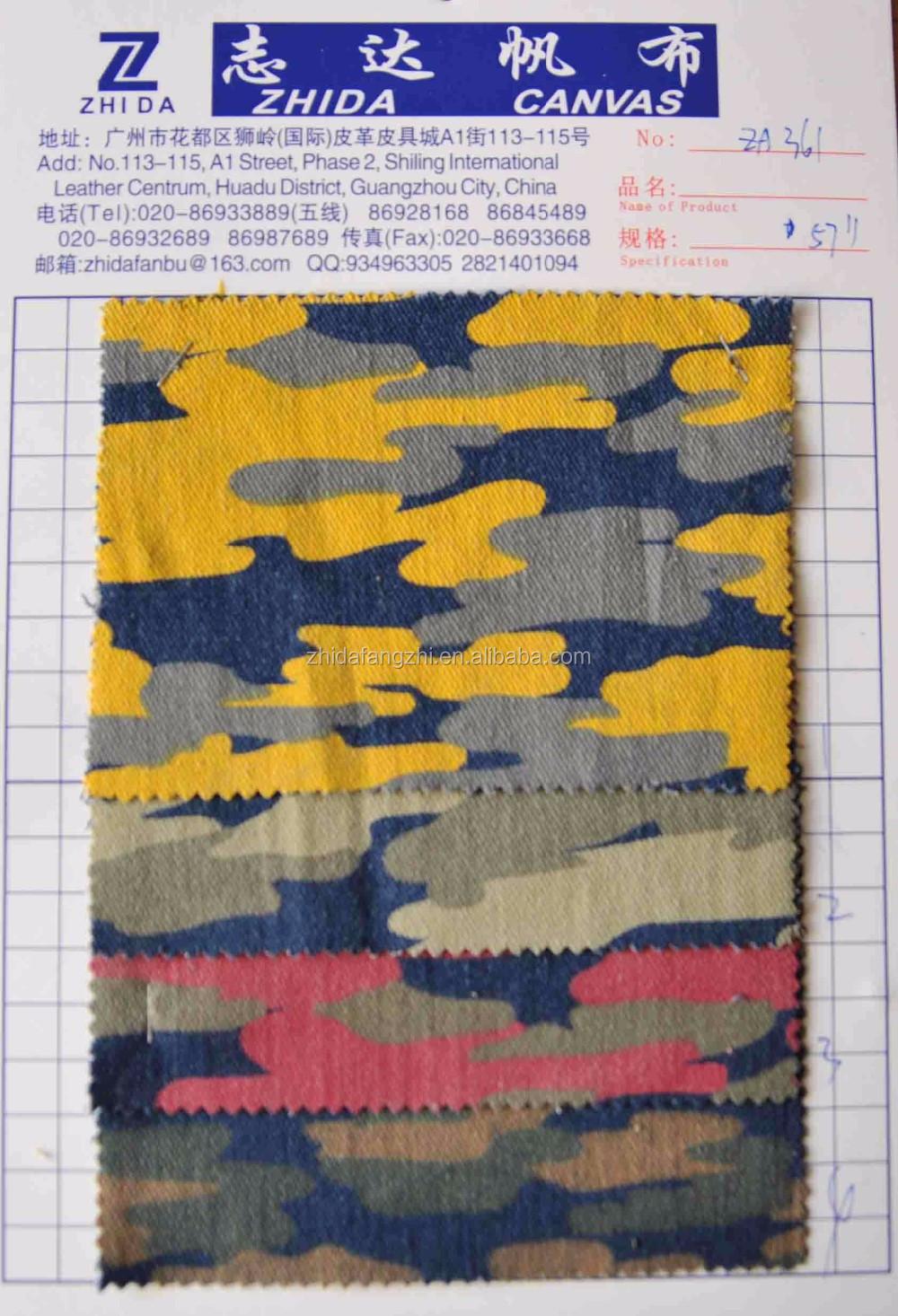 Jacquard Knitting Fabric Camo Jacquard Denim Fabric In Stock ...