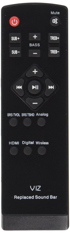 """VIZIO REMOTE CONTROL SB4020E-B0,SB4020E-A0-NA SB4020E-A0B SRS 40/"""" SOUND BAR 2.1"""