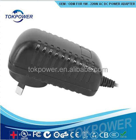 Hot Selling Products Wall Mount 24v 1a Power Adapter 24W Tokpower