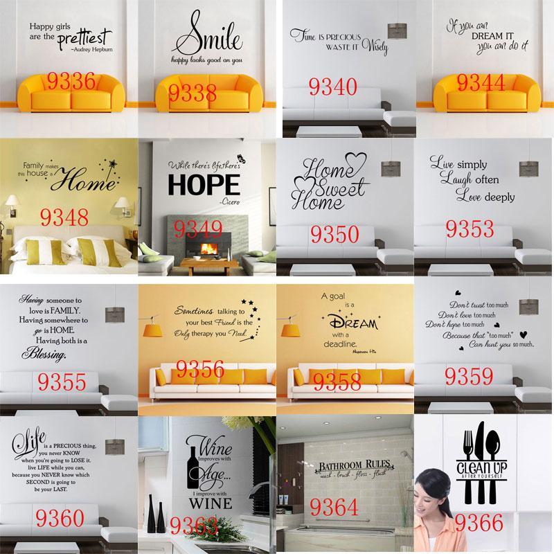 9100 Inspirado Você Pode Adesivo De Parede Diy Punho Citação Motivacional Vinil Removível Do Decalque Home Decor Mural Art Sticker Buy Inspirado