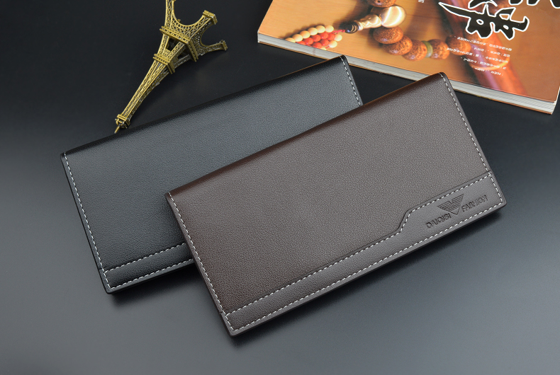 New Arrival High Quality Brand Men Leather Wallet Wholesale