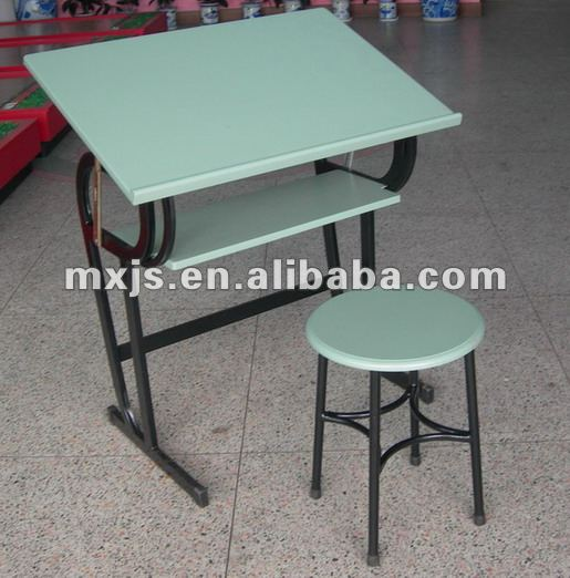 School drafting drawing table