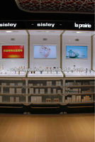 Japan store furniture for cosmetics for Pudong Airport