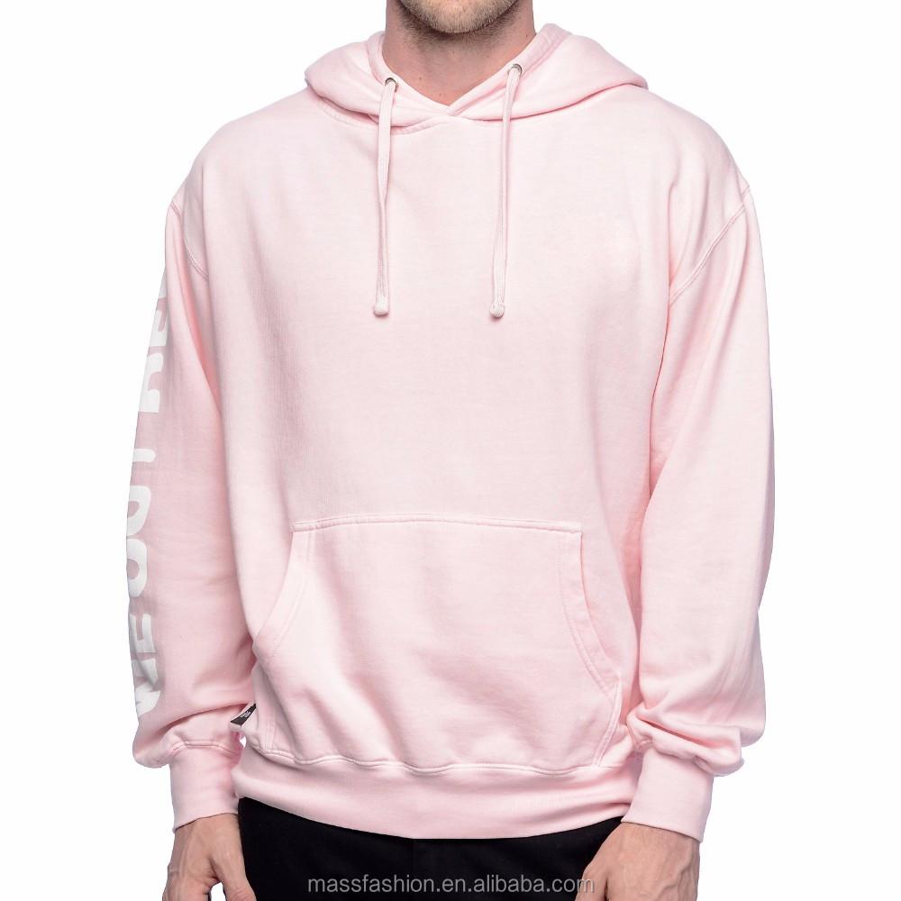 Plain Light Pink Vigor Color Hoodies For Men - Buy Plain Pink Hoodie ... d811e714467c