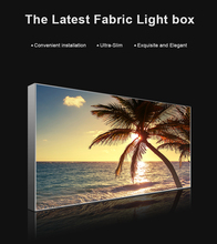 Led slim light box AF47,Frameless, Aluminum frame, double sides