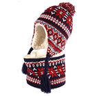 kdis girl toddler sherpa lined hat scarf gloves gloves set