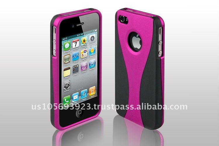 2012 Newest Model Rubberized Hard Case for Apple Iphone 4 G&iphone4S
