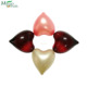 Heart shaped essential and mineral aroma therapy oil beads