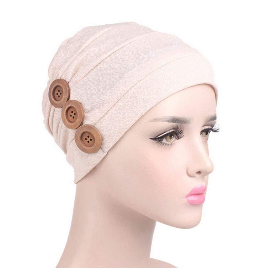 f12af84520bd3 Buy Fabal Women Cancer Chemo Hat Beanie Scarf Turban Head Wrap Cap ...
