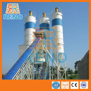 Very popular HZS 25 small concrete batching plant with spare parts