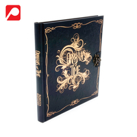 Classic Color Printing Case Bound Book with Clasp