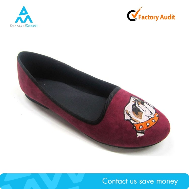 cute design cheap shoe flats , loafer