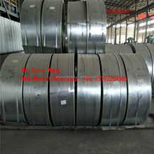 4.75mm galvanized steel strips ship to Bangladesh