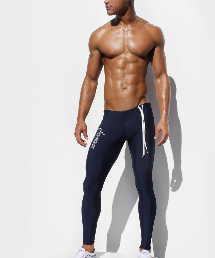 233a3f81139da 2019 Wholesale Sexy AQUX Men'S Workout Tights Elastic Gym Sports Running  Pants Full Leg ~ Ultra Thin Fabric, Great For Summer! From Masue, $33.26 |  DHgate.