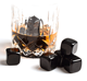 amazon new products ice cubes 2017 Whiskey Stones Black Obsidian dice ice cubes