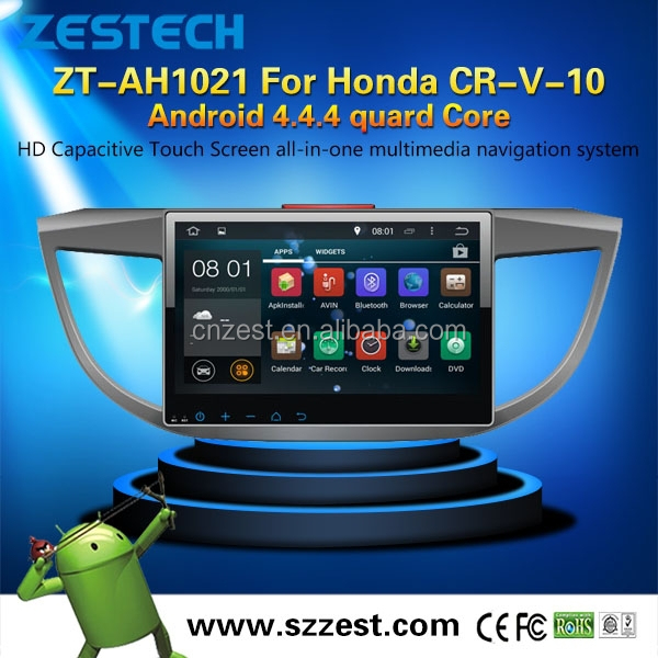 android 4 4 4 dvd de voiture gps pour honda crv 2013 2015 avec carte sd avec carte cam ra de. Black Bedroom Furniture Sets. Home Design Ideas