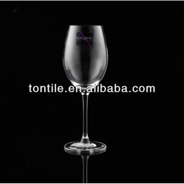 Glass Goblet Bar Inner Drinking Cup Stock Promotion CE Middle Size for Wine Brandy XO
