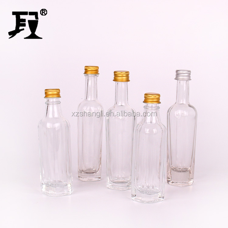250ml 500ml 750ml 1000ml square shape green color olive oil bottle with aluminum cap