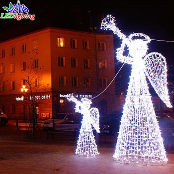 Ange Lumineux Noel Exterieur
