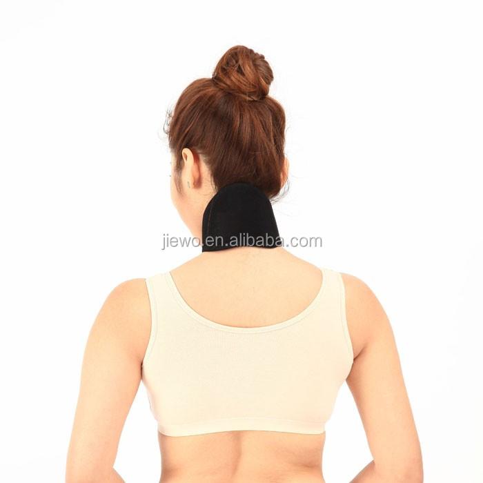 Magnetisch Nackenstütze Therapie Gebärmutterhals Spontan Erhitzen Schwarz