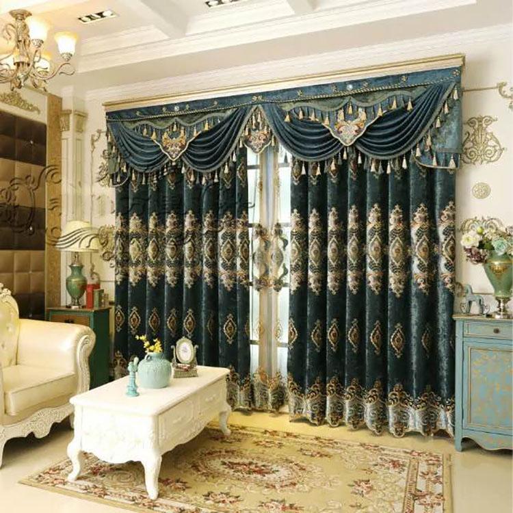 Classico Stile Dubai Tenda Della Finestra Per Soggiorno - Buy ...