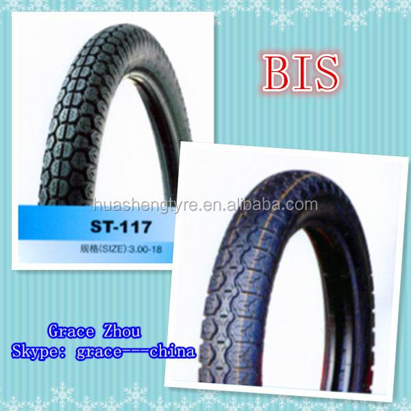 BIS Motorcycle tire 300-18 the rear tyre