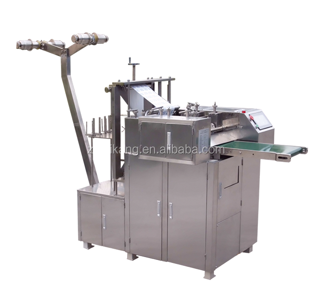 alcohol pad/swab packing machine