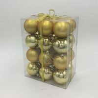 Factory sale Home Party Ornament Decor various sizes christmas ornament ball