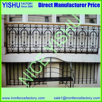 Indian Style Wrought Iron Window Grill Design 11