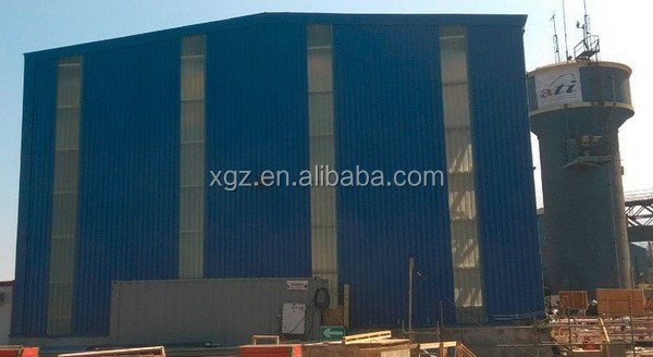 ISO & CE certificated steel construction prefabricated steel structure