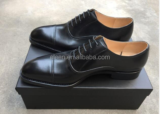 leather handmade Goodyear men shoes welted 5qB0x0wrt